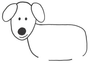 собаки рисунки детей