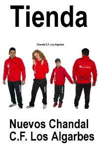 Tienda Chandal C.F. Los Algarbes
