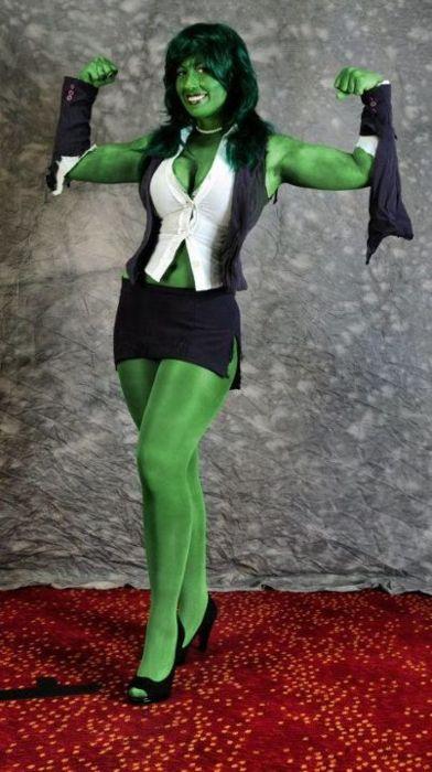 cosplay She-hulk