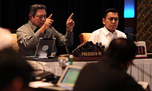 Foto SBY : Budiono