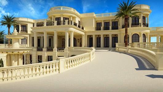 Mau Tahu Seperti Apa Rumah Mewah Berlapis Emas Seharga Rp 1,8 Triliun?