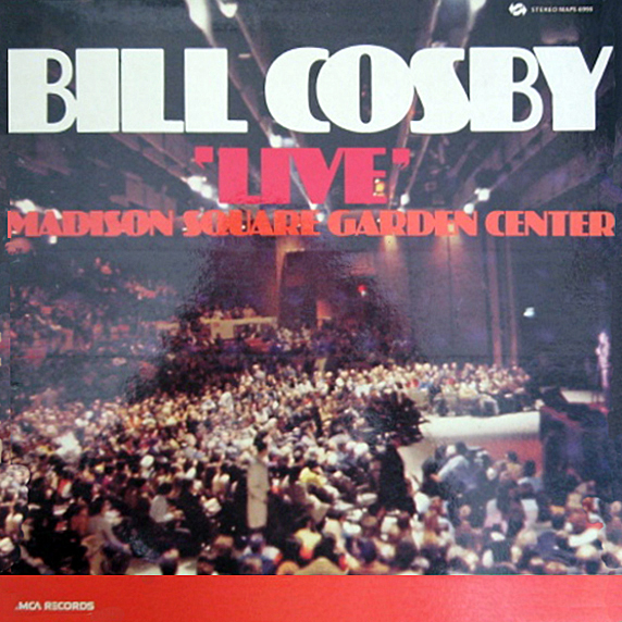 Vintage Stand Up Comedy Bill Cosby Live Madison Square Garden Center 1970
