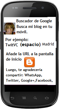 BUSCA TWITVC ESPAÑA EN TU MOVIL
