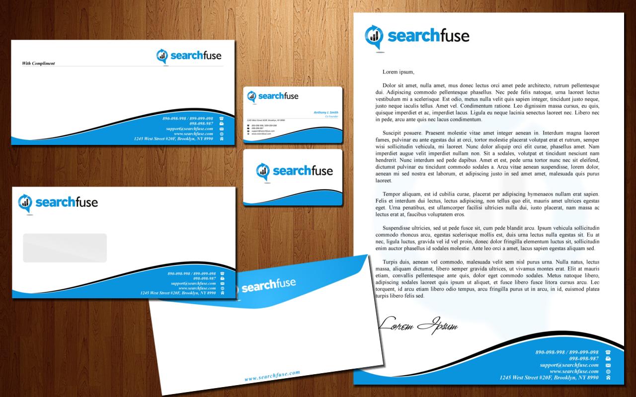 Syarah\'s Portfolio: Letterhead, Envelope, Compliment Slip and ...