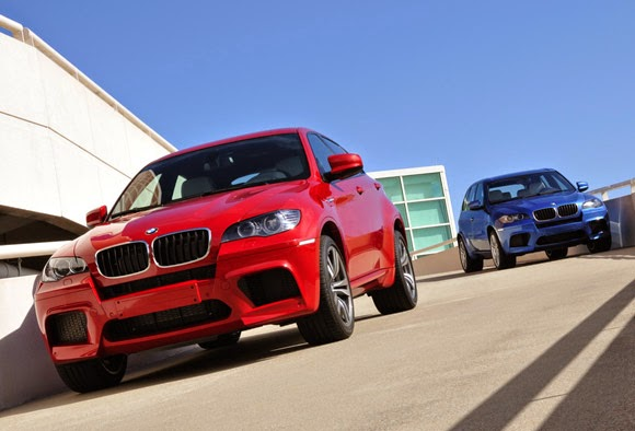 BMW X5M and X6M 2015 Powerful 575 PS!