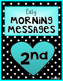 Morning Messages: 2nd Grade
