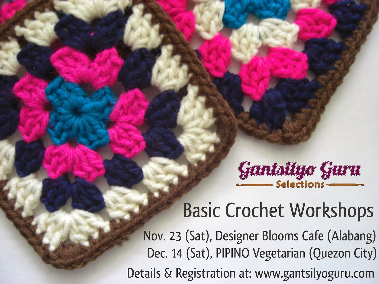 Learn To Crochet in QC or Alabang