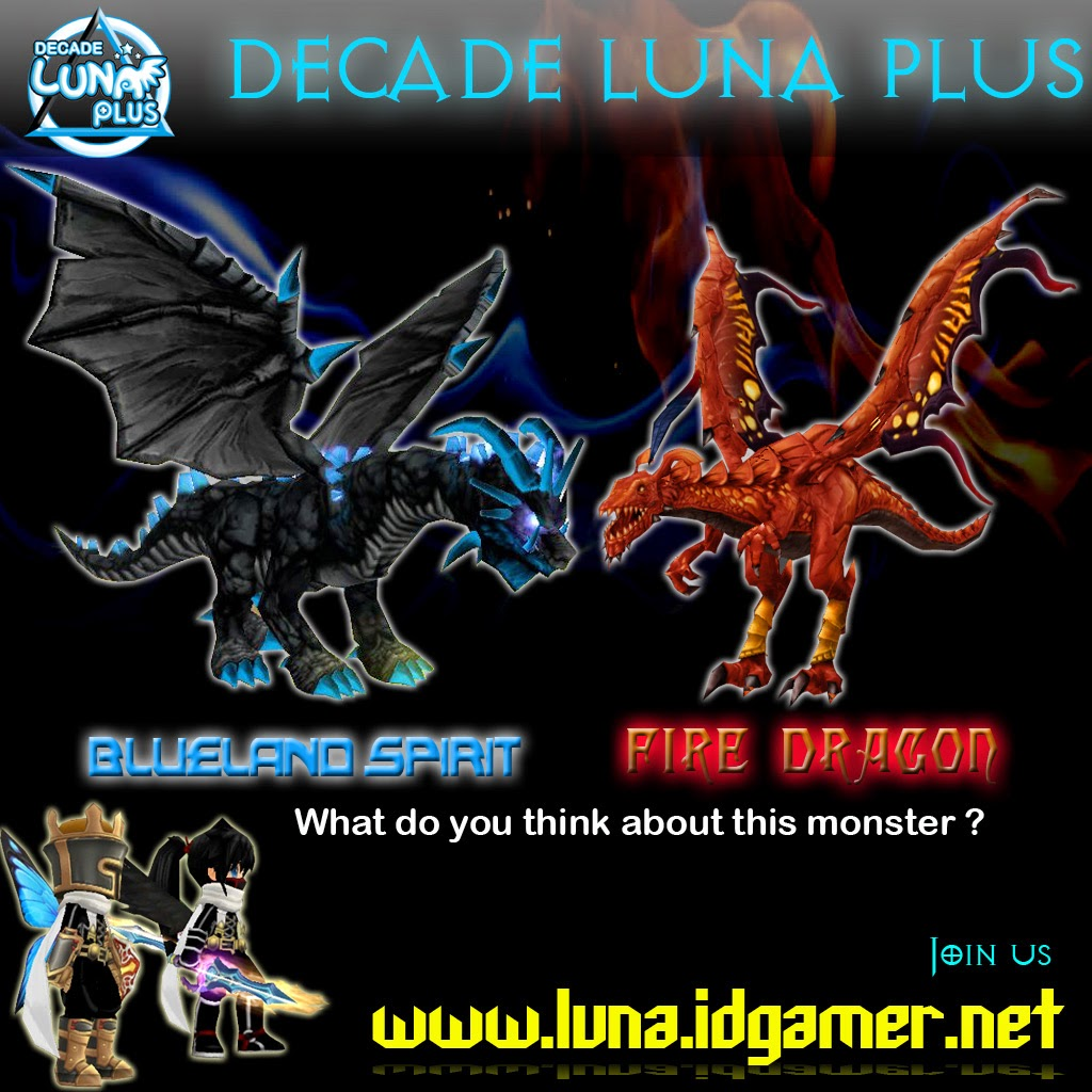 New Monster Decade Luna plus