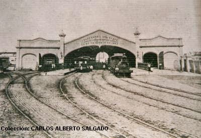La Historia de Nuestro Primer Ferrocarril. 30 de Agosto 1857