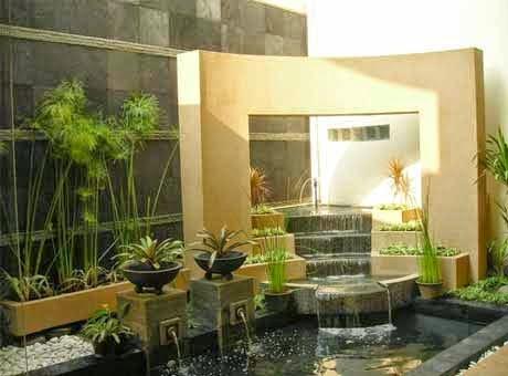 kolam minimalis | bibit tanaman | buah | penghijauan