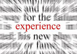The word experience magnified