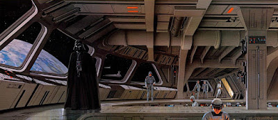 Star Wars Storyboards darth vader