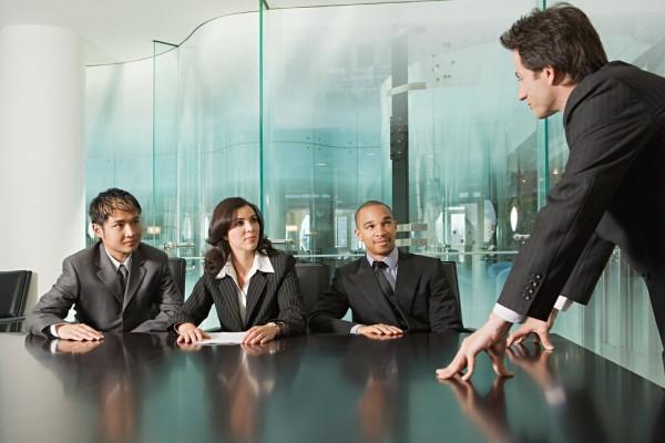 reunión empresarial