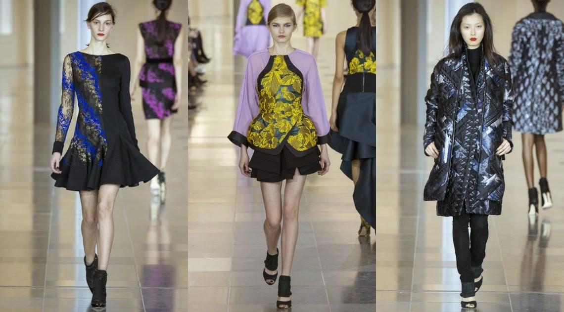 Antonio Berardi AW15 London Fashion Week