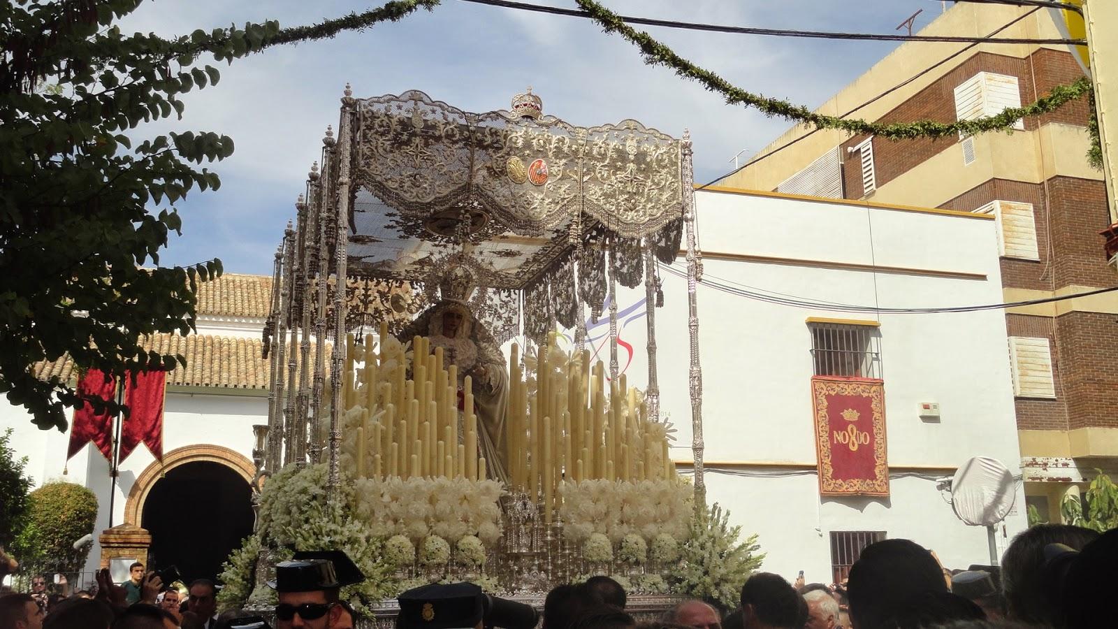 Procesion Extraordinaria Ida /5 aniversario de la Virgen de la Paz