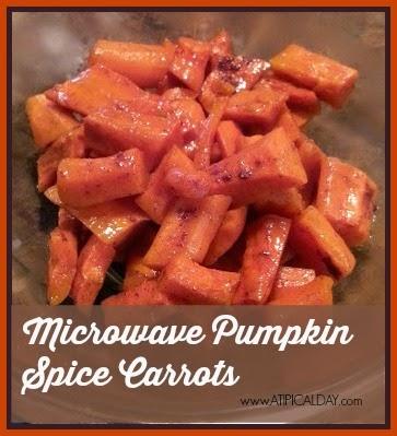 Microwave Pumpkin Spice @ATIPicalDay #recipes #pumpkinspice #sides #microwavecooking