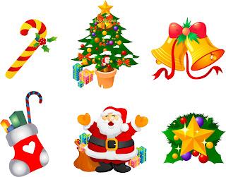 vetores de natal gratis