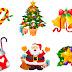 vetores de natal em corel christmas vector