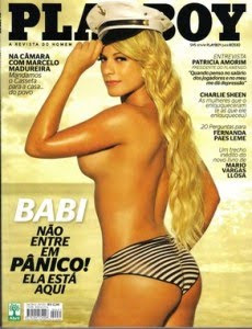 Download Playboy Babi Rossi Panicat Abril 2011
