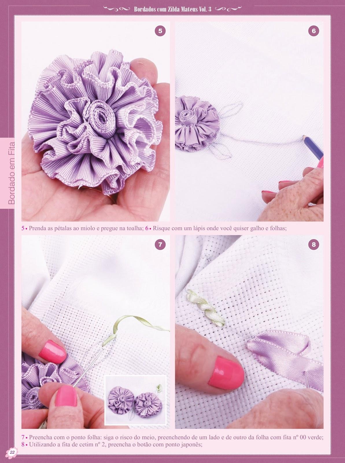Artesanato Origami Passo A Passo ~ #bordadoterapia Vitrine do Artesanato