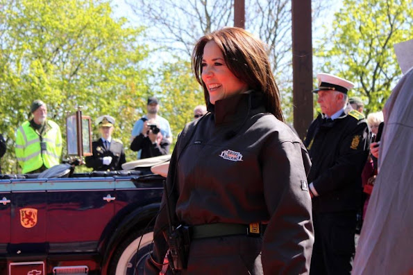 Princess Mary attended the opening of Bridge Walking