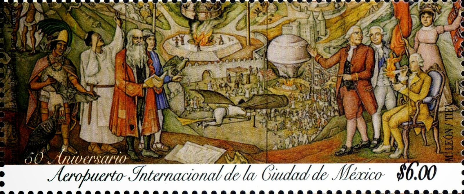 Filatelia y gerardo pacheco el guajolote o pavo y la navidad for Mural nuestra carne