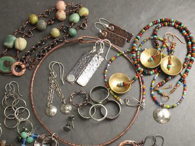 handmade jewelry by Libellula Jewelry & Cicada Silver