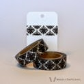 Black Damask Washi Tape - WashiTapesNL
