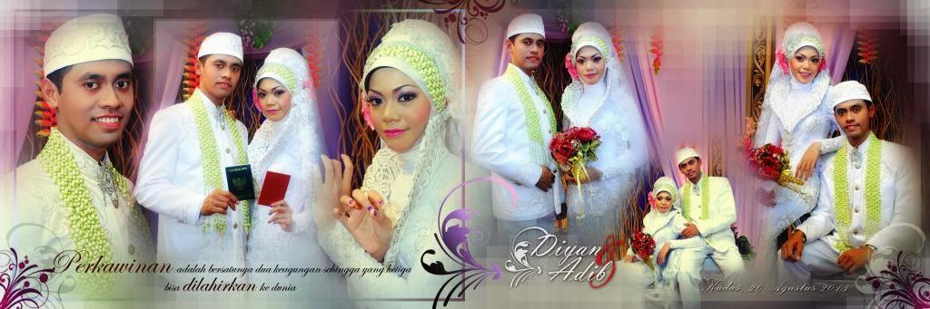 sample fotografi pernikahan Adib & Diyan