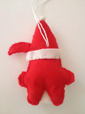 Papa Noel fieltro