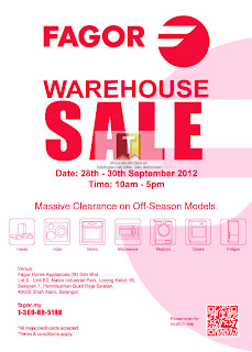 FAGOR Warehouse Sale 2012