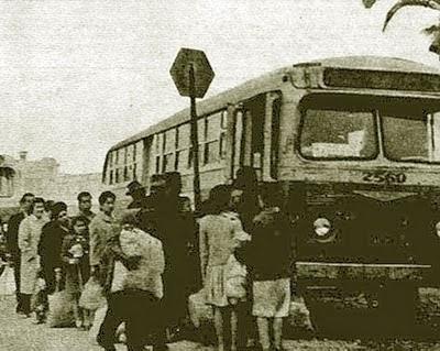 Parada de bus en mapocho