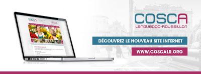 Création du Site internet du COSCA Languedoc-Roussillon