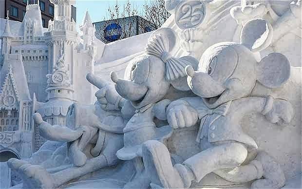 Sapporo Snow Festival, Japan- Top 10 Coolest Snow Buildings