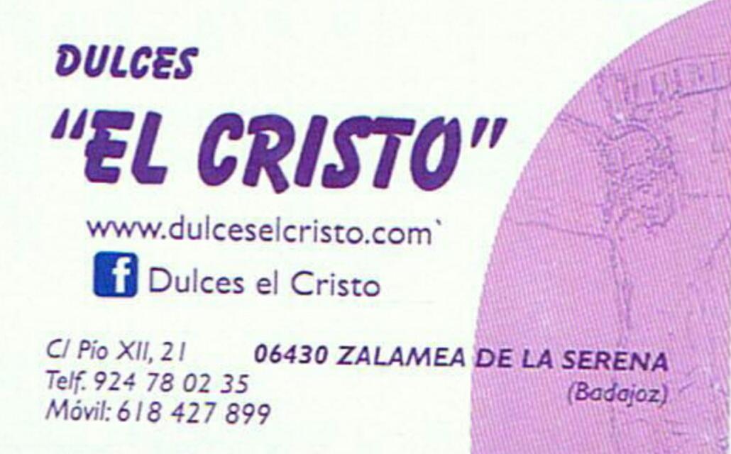 DULCES EL CRISTO