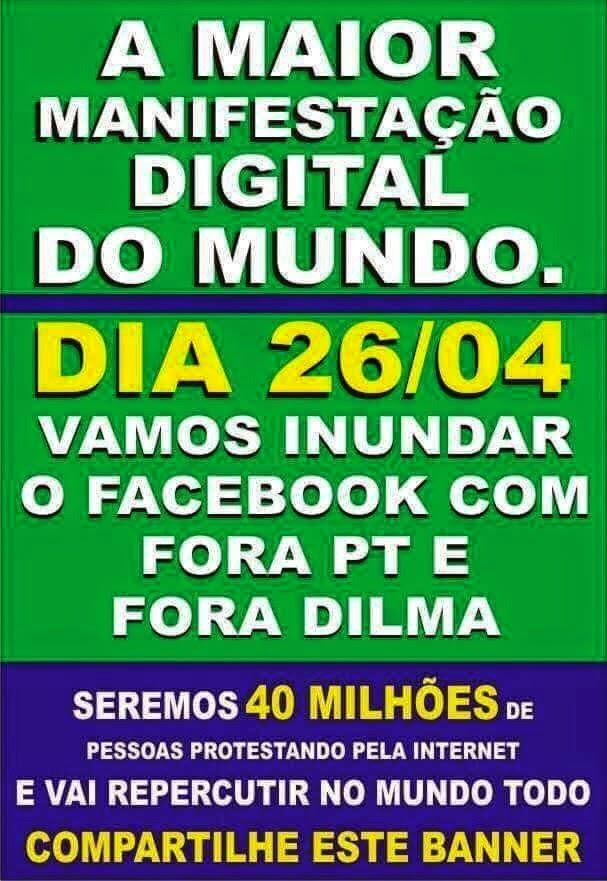 Manifestação digital