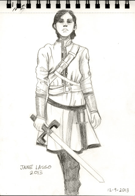 Dibujo hecho con lápiz