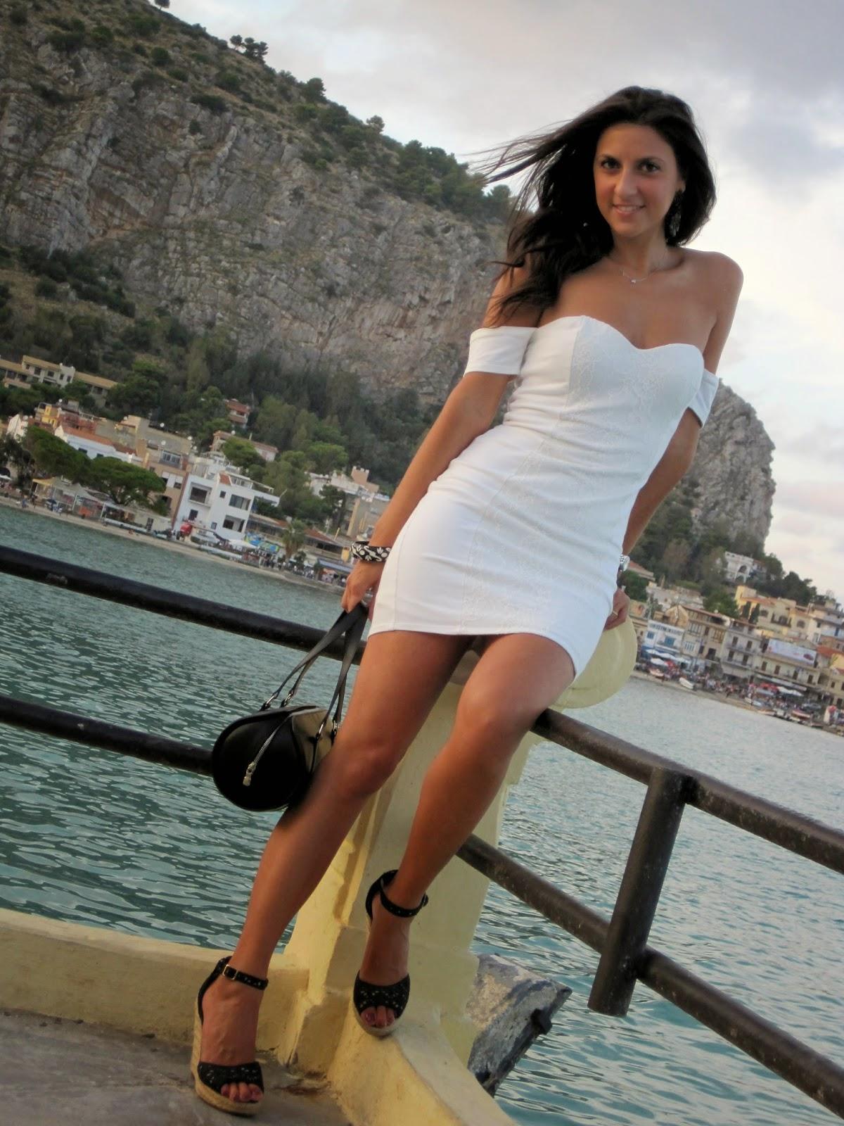 #blanco, abito, #sicily