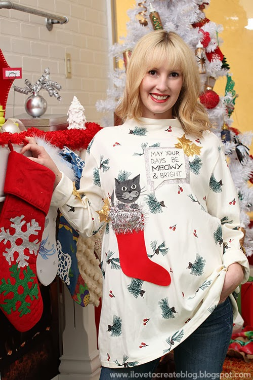 Diy Ugly Christmas Sweater Party Ideas Part - 40: 4 Ways To Make Your Own Ugly Holiday Sweater