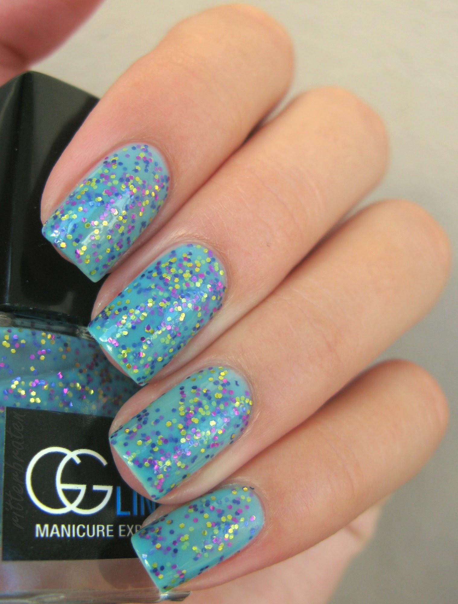 gg line nail polish