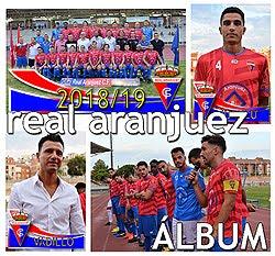 Plantilla del Real Aranjuez CF