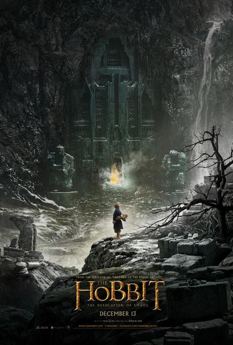 """Poster """"El Hobbit: La Desolación de Smaug"""""""