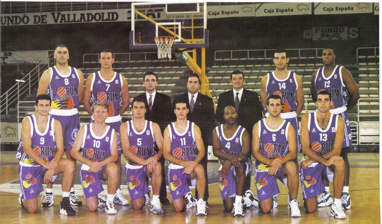 FORUM VALLADOLID 1997-1998. Liga ACB