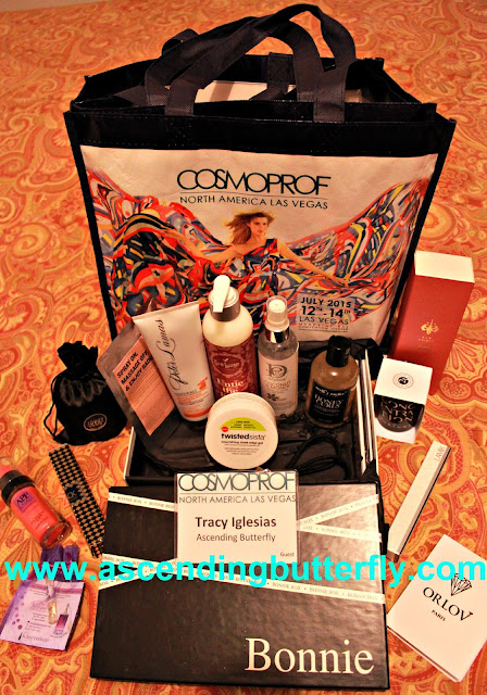 Cosmoprof Rising Stars of Beauty Swag Bag