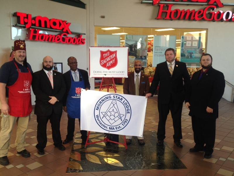 Volunteering for the Salvation Army Red Kettle Campaign