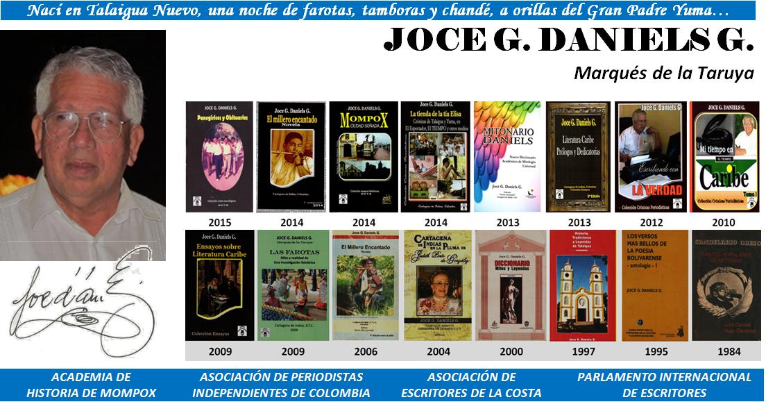 JOCE G. DANIELS G. Crónicas y Relatos