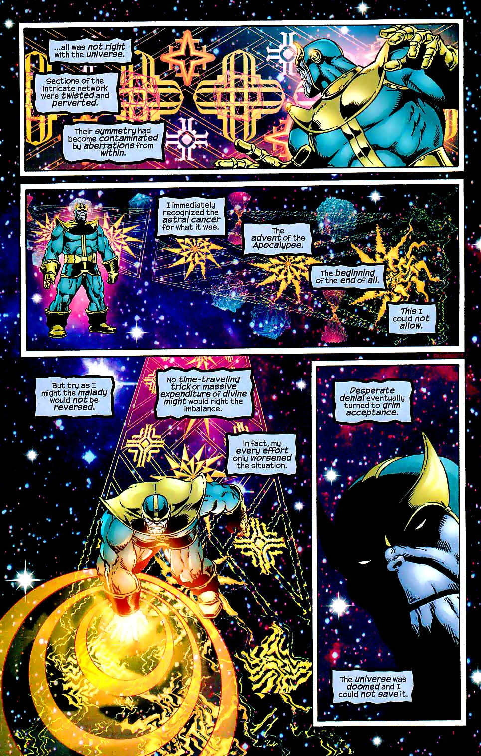 Thanos Heart of the Universe Marvel the End