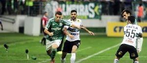 Palmeiras vence o Coritiba e Bahia escapa do Z-4