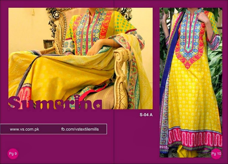 Sumerina Designer Collection 2014 by VS Textiles
