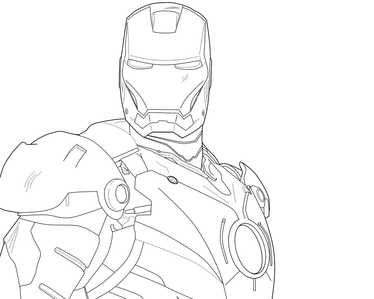 D Line Drawings You Tube : Iron man drawing pictures d
